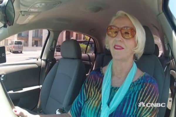 Retirees as Uber drivers