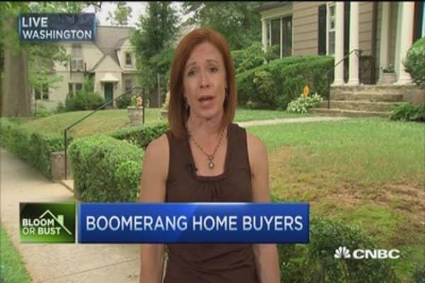 Boomerang home buyers