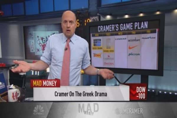Cramer expects more deals to unfold next week