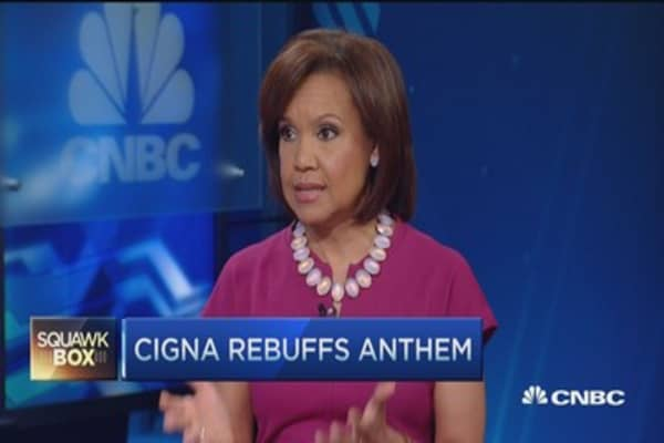 Cigna rejects Anthem's latest offer