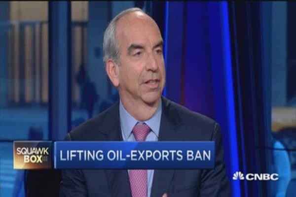 US oil 'trapped here': Hess CEO