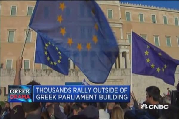 No deal, but progress in Greece