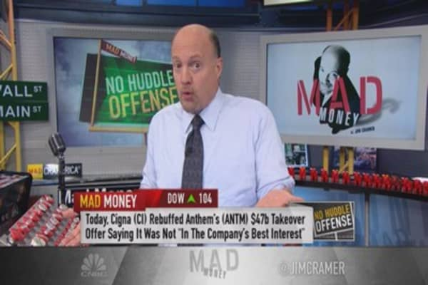 Cramer: Two types of takeover targets