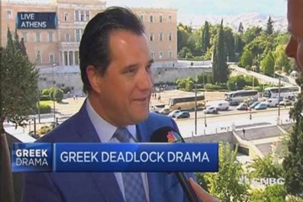 Taxes killing Greek economy: Greece MP