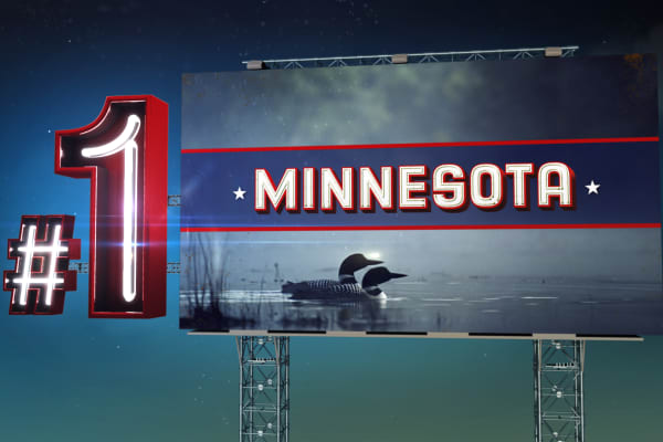 Top States 2015 #1 Minnesota