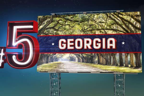 Top States 2015 #5 Georgia