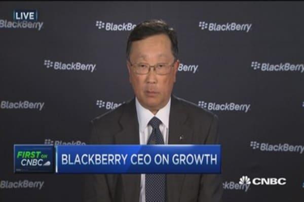 Blackberry's two advantages: Chen