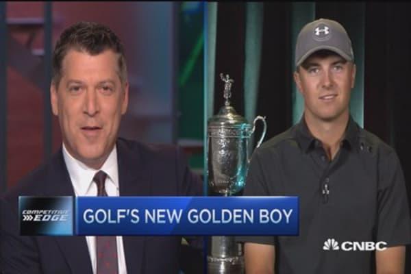 Golf's new golden boy: Jordan Spieth