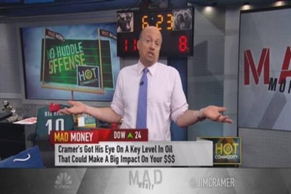 Cramer finds bargains in oil stocks