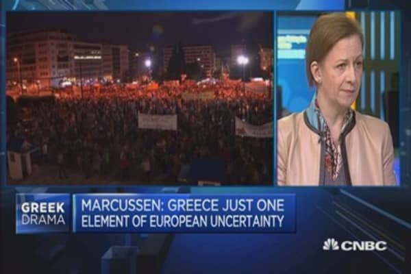 Why aren't markets reacting to Greece?