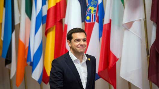 Alexis Tsipras, Greece's prime minister