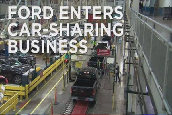 Ford tests a car sharing program