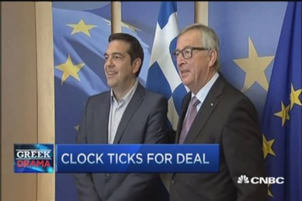 Waiting for a Greek deal