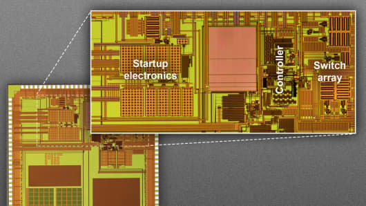 New ultralow-power circuit improves efficiency of energy harvesting to more than 80 percent.