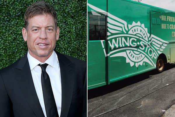 Troy Aikman and Wingstop