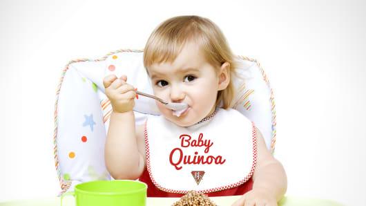 BJ's Restaurant & Brewhouse Baby Quinoa.