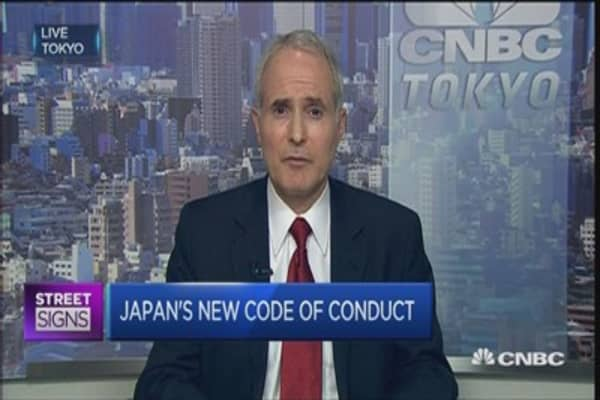 Japan Inc readies for new governance code