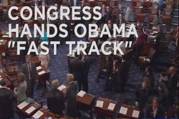 Senate passes 'fast track' negotiations