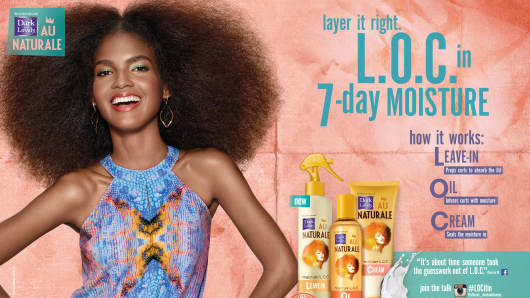 L'Oreal Dark and Lovely products.
