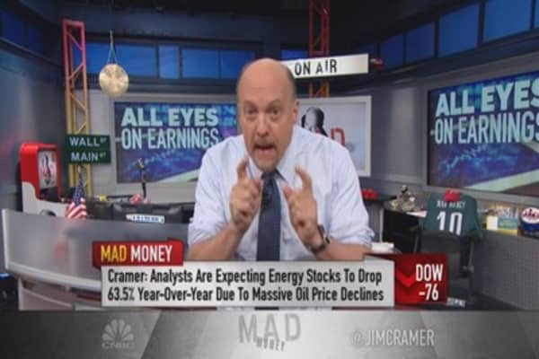 Cramer: All eyes on earnings