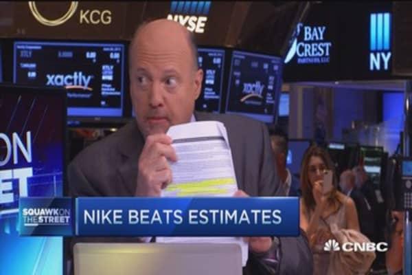 Cramer: Why Nike earnings were great