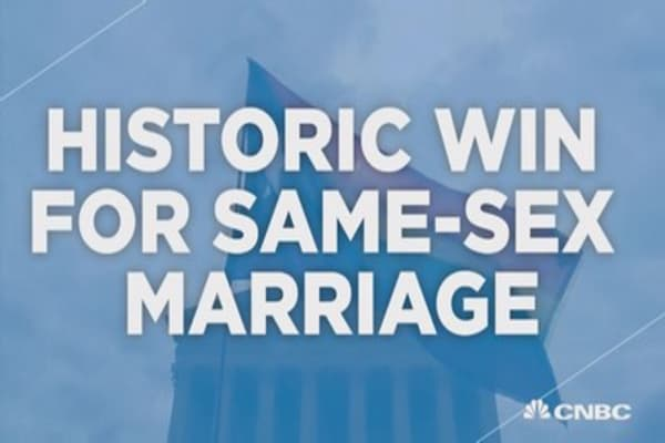 Historic victory for same-sex marriage advocate