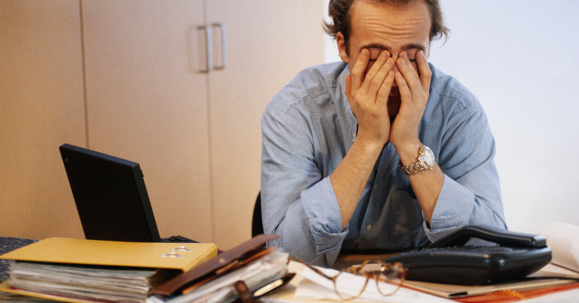 Most American workers are stressed most of the time