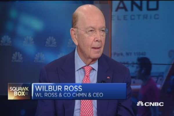Wilbur Ross: Greece, a country with no liquidity