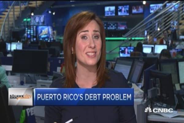 Puerto Rico's 'death spiral'
