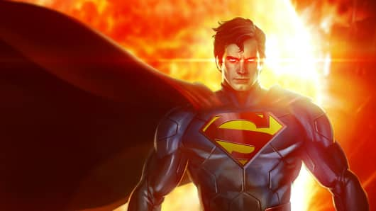 Superman from the Infinite Crisis game.