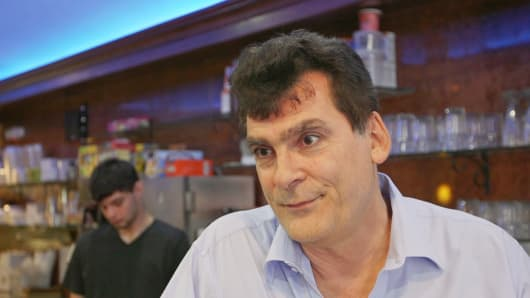 John Kamitsis, owner of Mike's Diner in Astoria, N.Y., who is from Greece, said that Greece should not exit the euro zone.