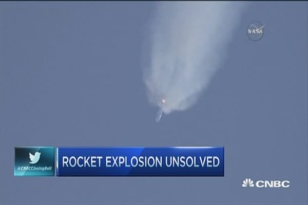 SpaceX explosion unsolved