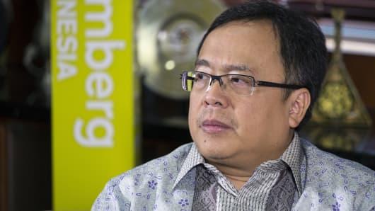 Bambang Brodjonegoro, Indonesia's finance minister.