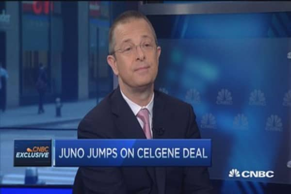 Juno, Celgene's $1B cancer-fighting deal: CEO
