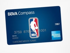 BBVA NBA American Express card