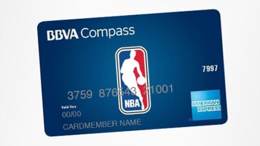 BBVA NBA American Express card