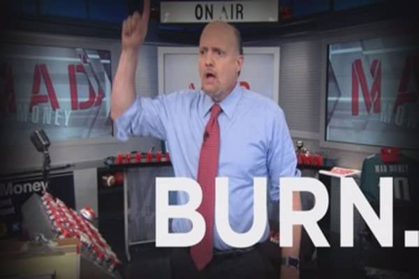 Cramer: A stock so bad I can't even say its name