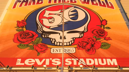 The Grateful Dead bid Fare Thee Well at Levi's Stadium in Santa Clara, Calif.
