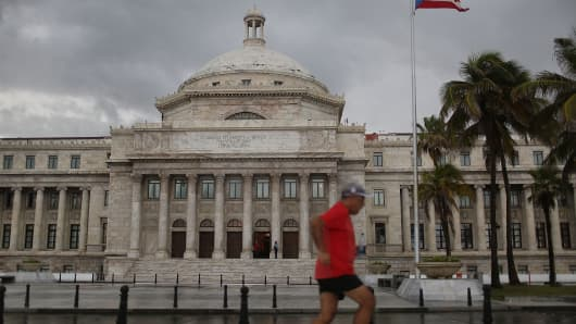 Capitol building in San Juan