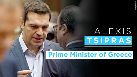 Alexis Tsipras graphic
