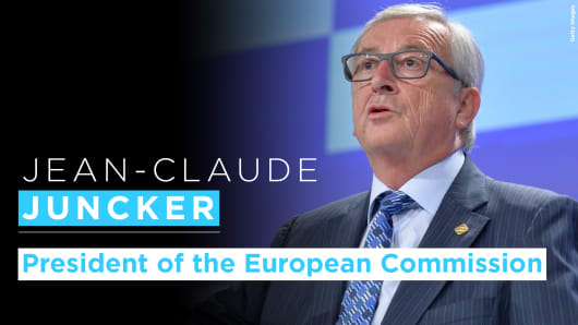 Jean-Claude Juncker graphic