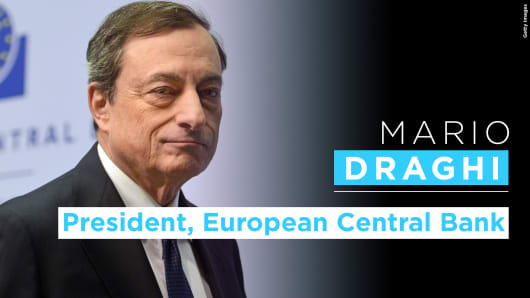 Mario Draghi graphic