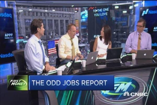 The odd jobs report
