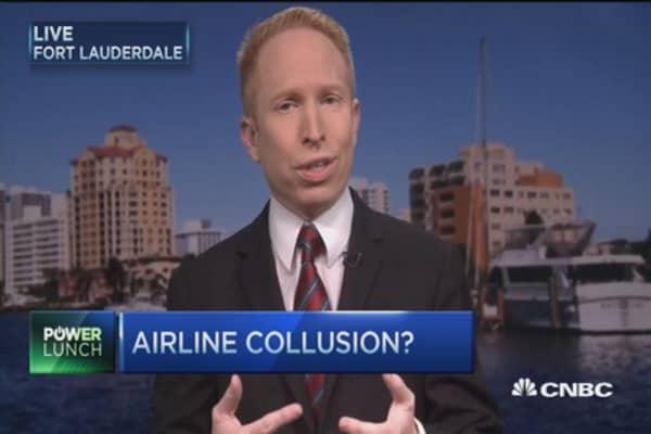 Airline collusion?