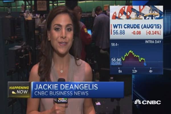 Oil closes near session lows