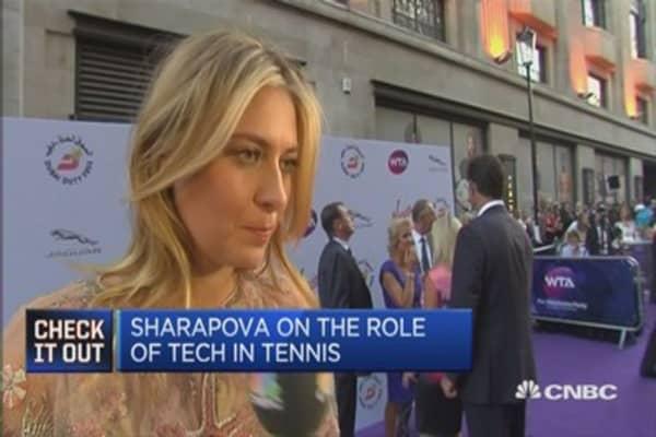Maria Sharapova on her candy brand