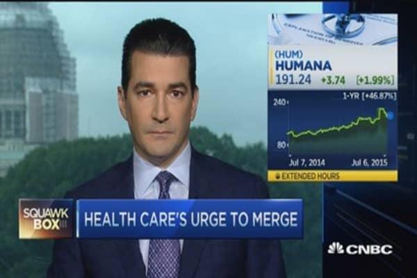 Health care's urge to merge