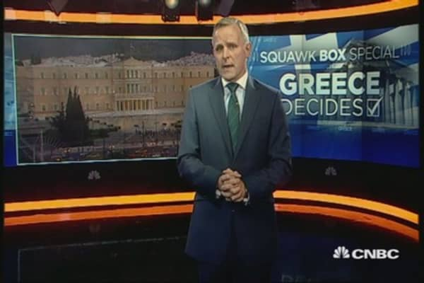 Greek referendum unfolded