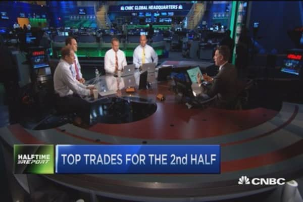 Top trades for the 2nd half: Earnings are what matters