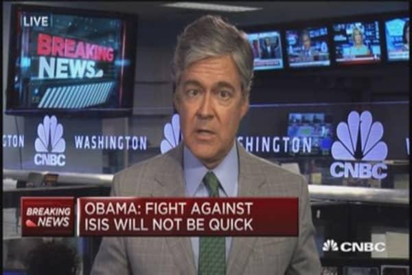 Pres. Obama reiterates ISIS strategy
